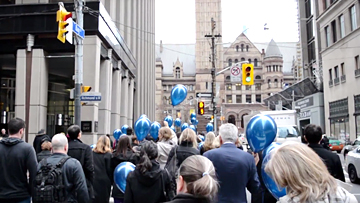 Toronto lawyers march for human rights