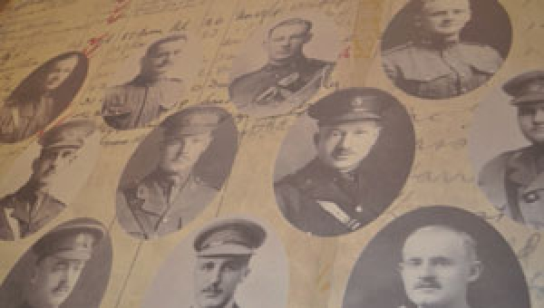 Honouring law students killed during First World War
